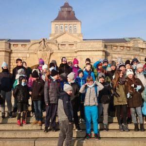 Listopadowy dzień w Szczecinie
